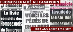 Outing des personnalités au Cameroun cc Google
