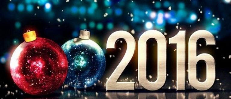 Article : Happy New Year 2016